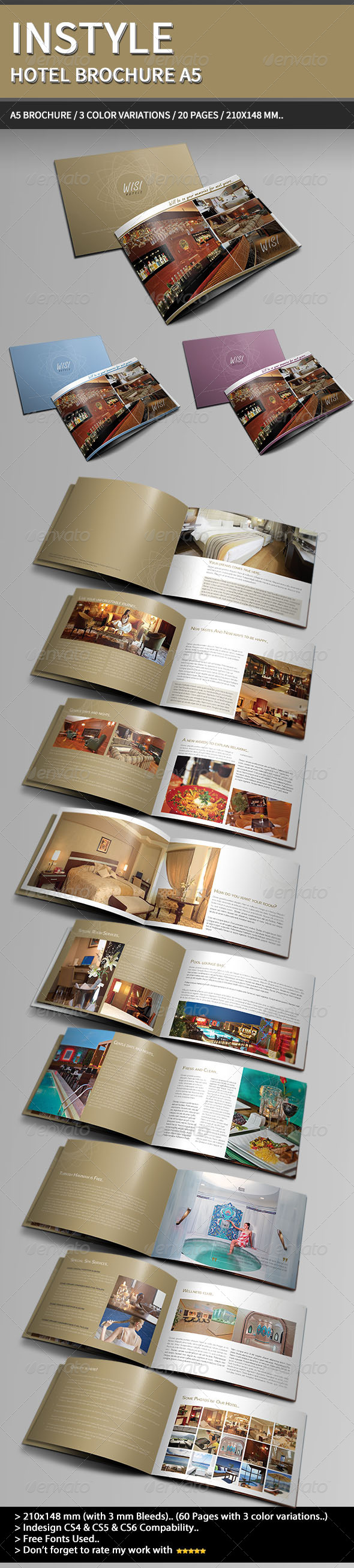 InStyle Hotel Brochure A5.. - Informational Brochures