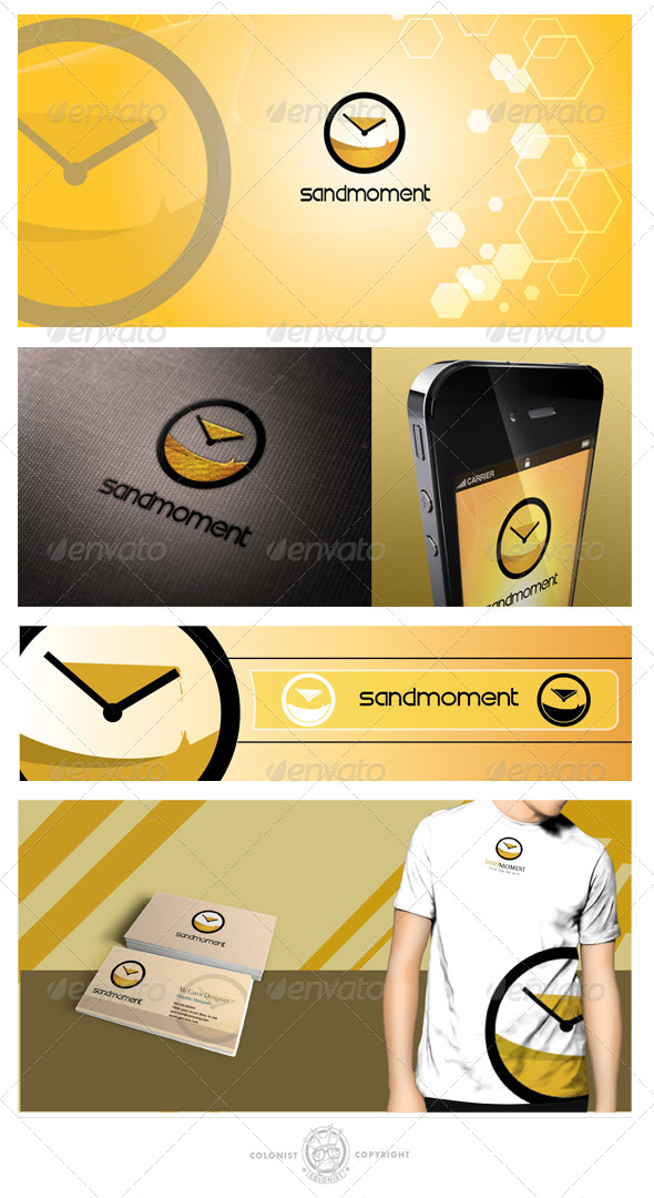 Sandmoment Logo - Objects Logo Templates