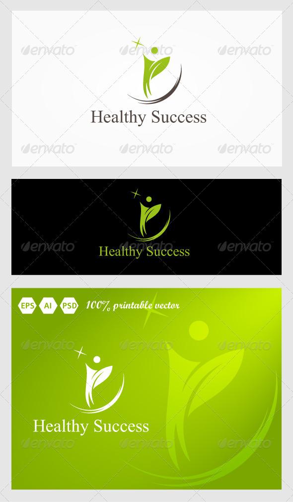 Healthy Success Logo - Humans Logo Templates