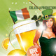 St. Patrick's Day Party Flyer Template 3 - GraphicRiver Item for Sale