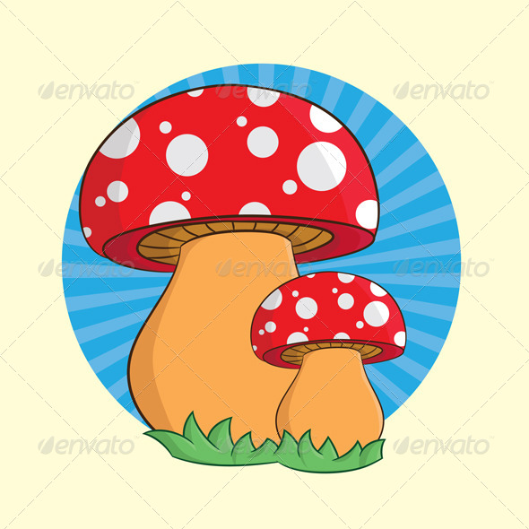 Mushroom - Organic Objects Objects