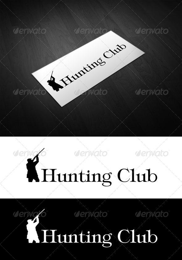 Hunting club - Humans Logo Templates
