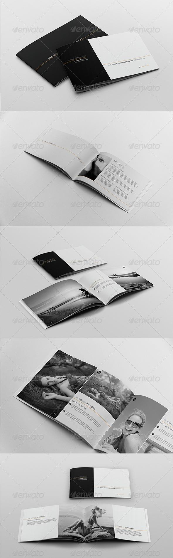 My Collection Portfolio Template - Portfolio Brochures
