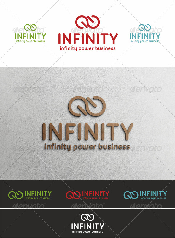 Infinity Power Logo Template - Symbols Logo Templates