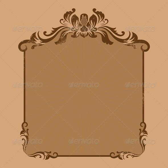 Ornament Frame - Decorative Symbols Decorative