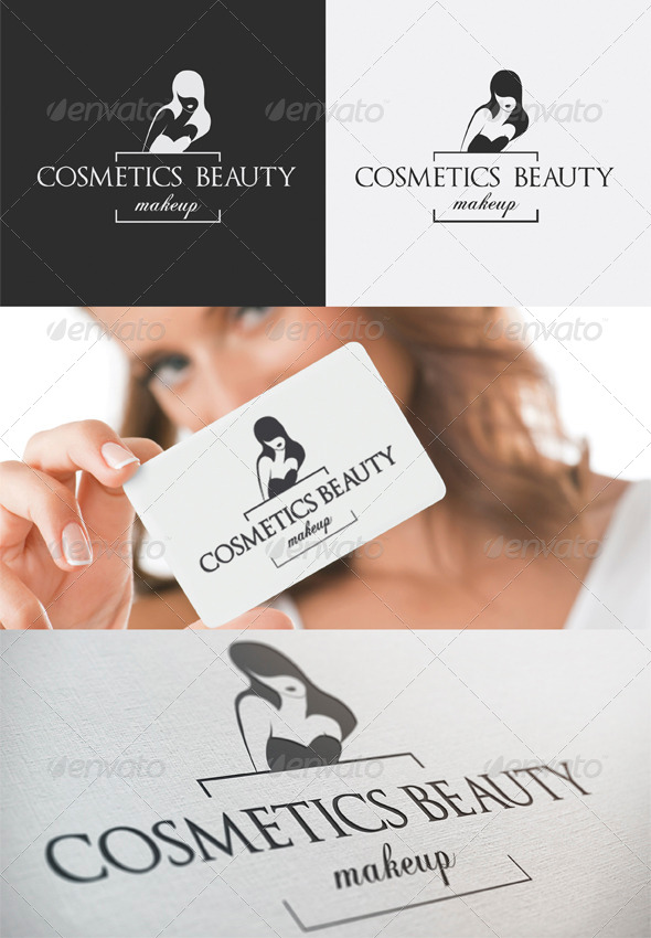 Cosmetics Beauty Logo - Humans Logo Templates