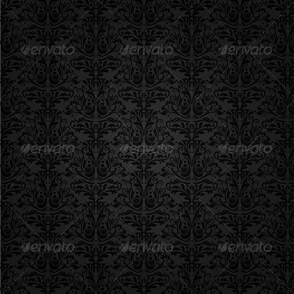 Damask Background - Backgrounds Decorative