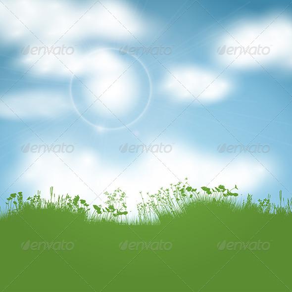 Sunny Landscape - Landscapes Nature