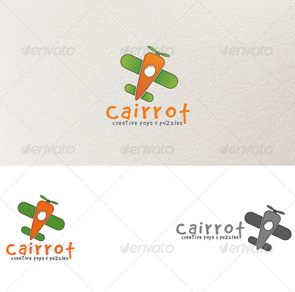 Carrot Toys - Logo Template - Objects Logo Templates