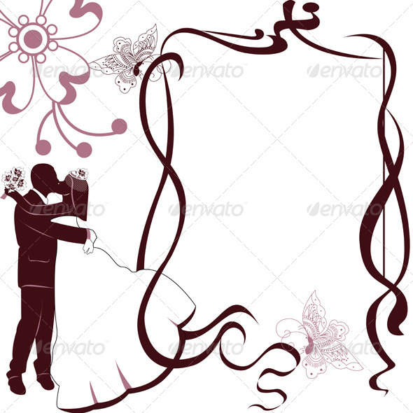 Wedding Card Invitation - Travel Conceptual