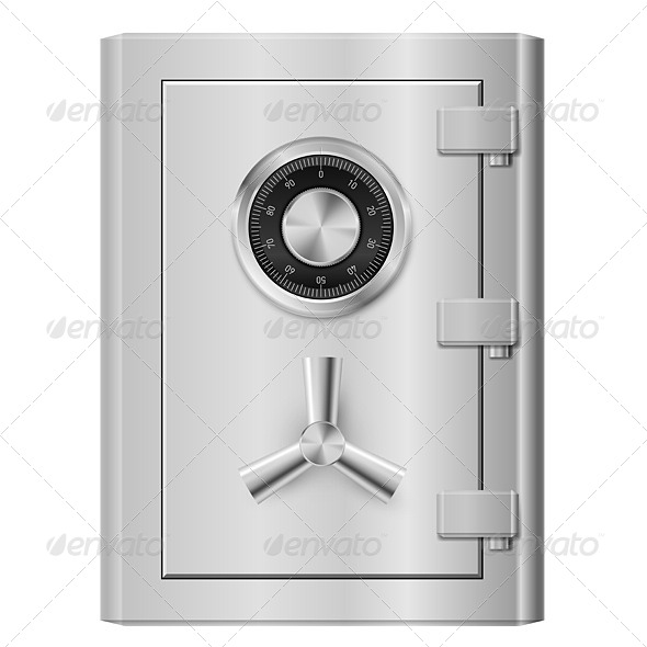 Steel Safe - Miscellaneous Vectors