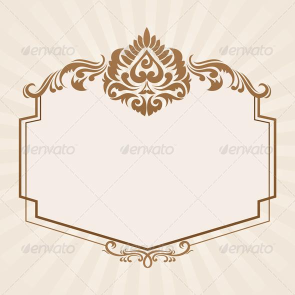 Spades Ornament Frame - Decorative Symbols Decorative