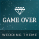 Game Over - Responsive Wedding Event Planning Nulled