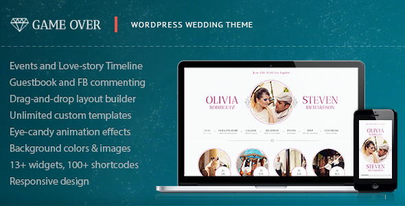 Game Over – Responsive Wedding Event Planning