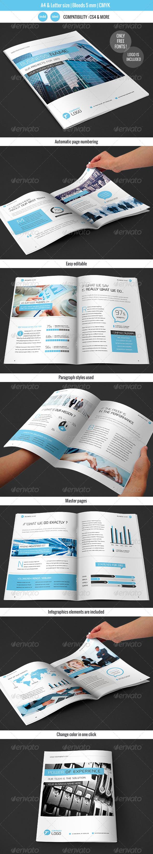 Corportate & Business Brochure Template Design - Corporate Brochures