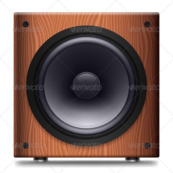 Stereo Speaker - Miscellaneous Vectors