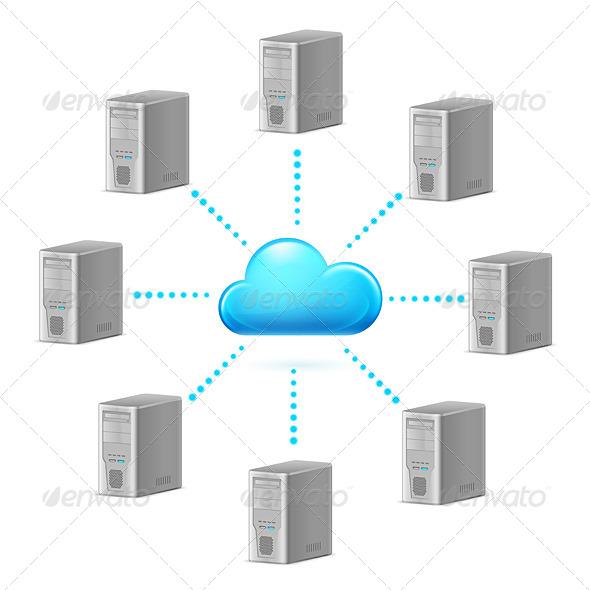 Cloud Computing - Miscellaneous Vectors
