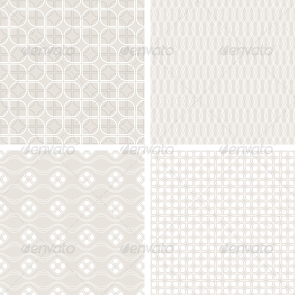 Seamless Vintage Wallpaper Patterns - Patterns Decorative
