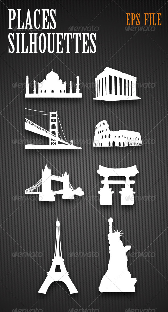 Monuments Silhouettes - Miscellaneous Characters