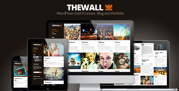 TheWall – Grid-A-Licious Blog and Portfolio theme