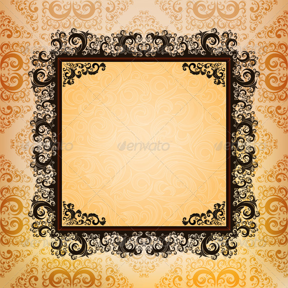 Ornamented Background - Backgrounds Decorative
