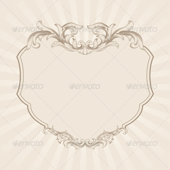 Decorative Frame Vector - Decorative Symbols Decorative
