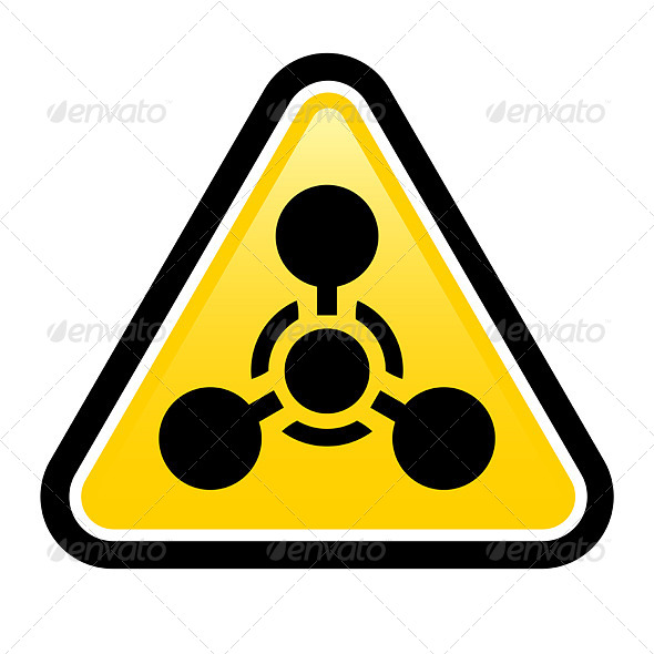 Chemical Weapon sign - Decorative Symbols Decorative