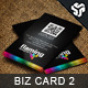 Business Card Design 2 - GraphicRiver Item for Sale