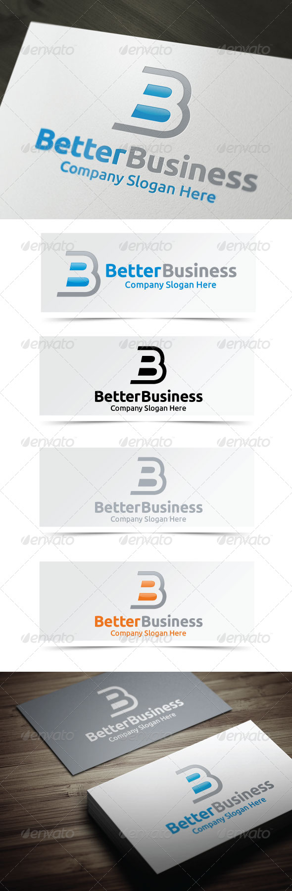 Better Business - Letters Logo Templates
