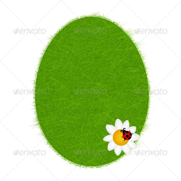 Easter Eggs Card with Colourful Eggs - Backgrounds Decorative