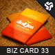 Business Card Design 33 - GraphicRiver Item for Sale