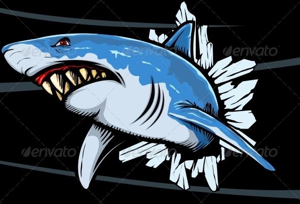 Shark Rage - Animals Characters
