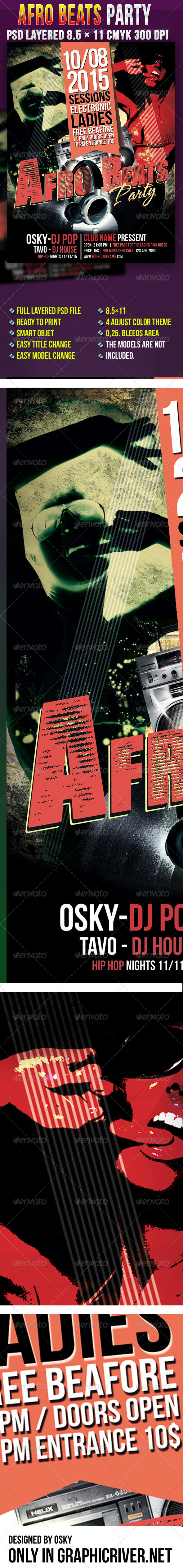 Afro Beats Party - Clubs & Parties Events