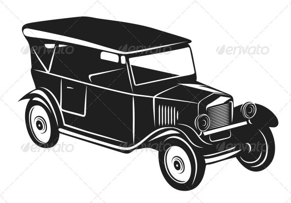 Vintage car - Retro Technology