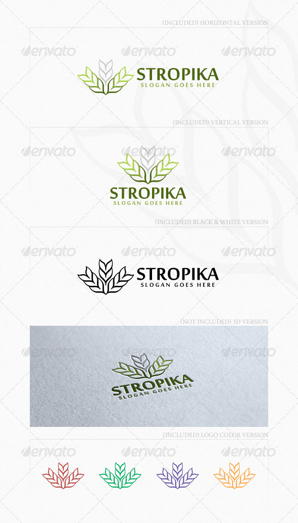Stropika Logo - Vector Abstract