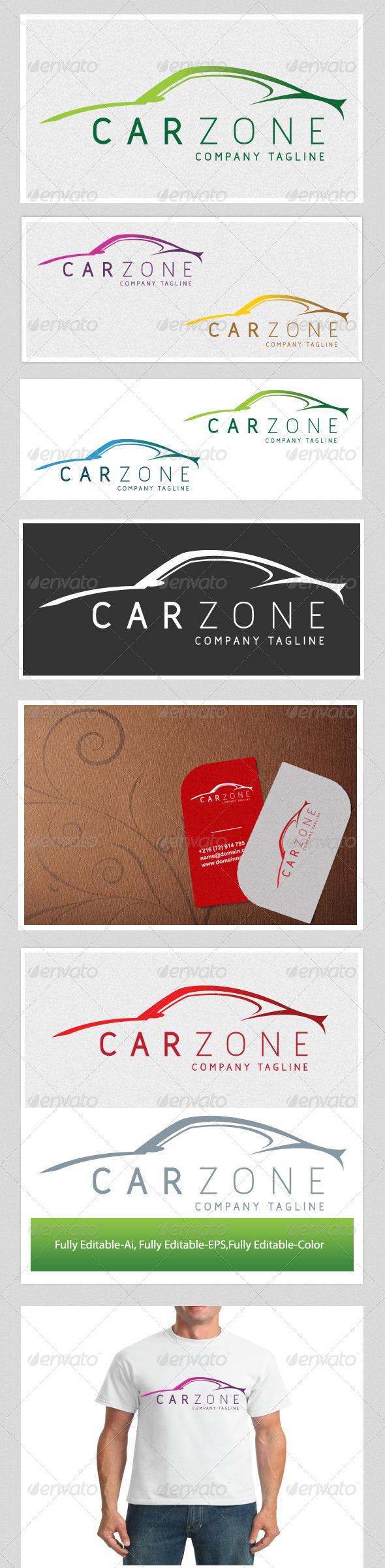 Car Zone - Vector Abstract