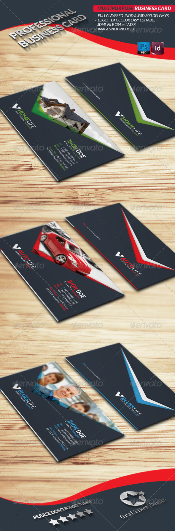 Multipurpose Business Card - Creative Business Cards