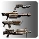 Lowpoly Gun Pack - 3DOcean Item for Sale