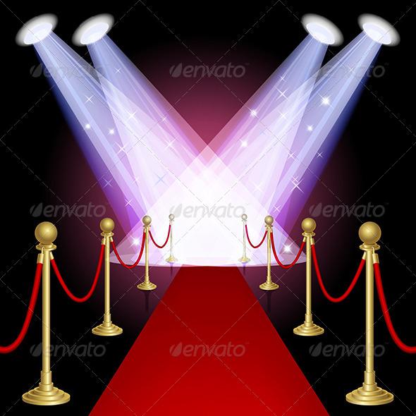 Red Carpet - Miscellaneous Vectors