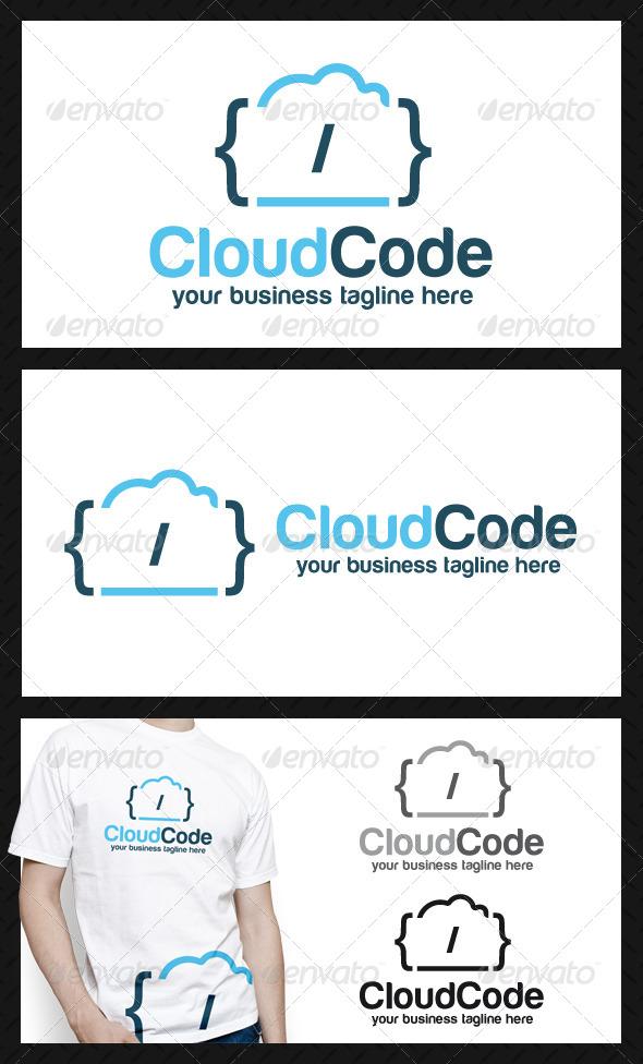Cloud Code Logo Template - Symbols Logo Templates