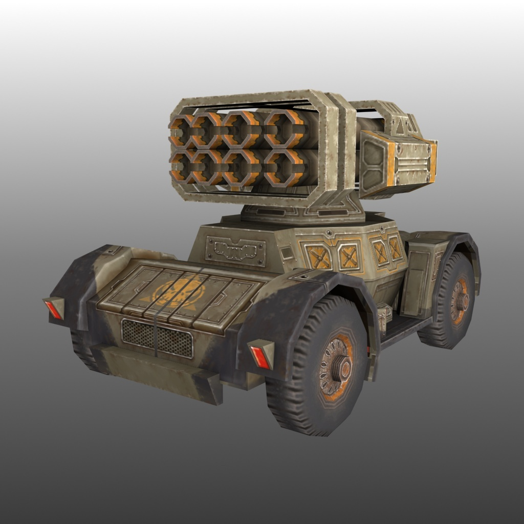 Low Poly Tank Pack