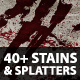 Stain and Splatter Vectors - GraphicRiver Item for Sale