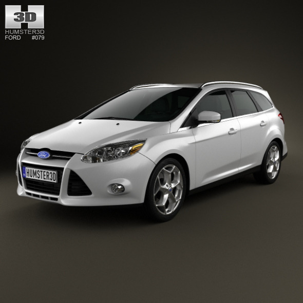 Ford Focus Wagon 2012 - 3DOcean Item for Sale