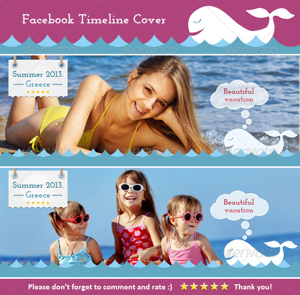 FB Cover (Vacation) - Facebook Timeline Covers Social Media