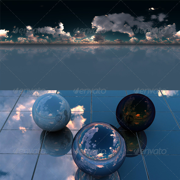 Glass floor - 3DOcean Item for Sale