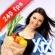 Woman With Groceries 240fps - VideoHive Item for Sale