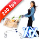 Woman With Shopping Cart 240fps - VideoHive Item for Sale