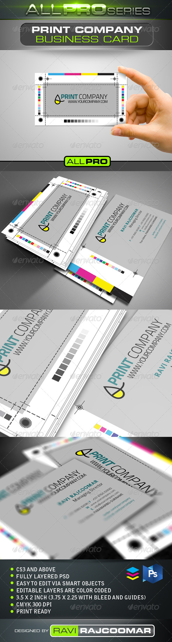 Print Company Business Card - Business Cards Print Templates