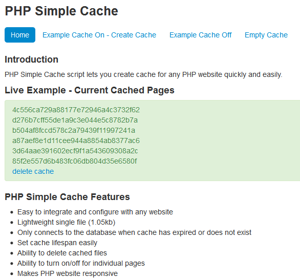 how to make a cache server
