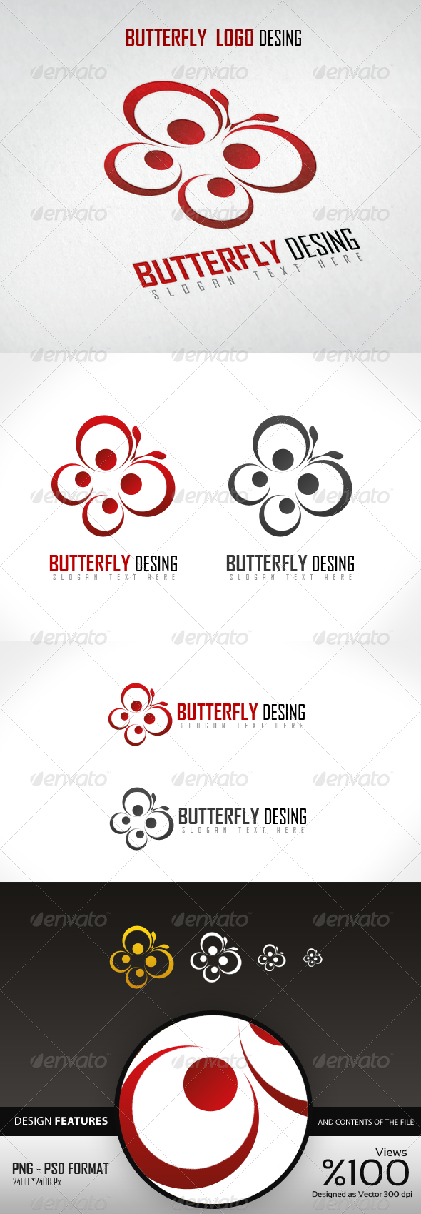 Butterfly Logo Design - Logo Templates